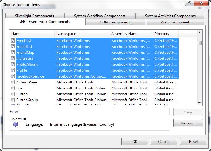 Using Facebook SDK in Desktop Application C#.Net (2/6)