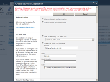 Configuring Facebook Authentication in SharePoint 2010